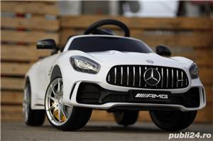 Masinuta electrica pentru copii Mercedes GT-R Alb Nou - imagine 1