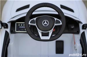Masinuta electrica pentru copii Mercedes GT-R Alb Nou - imagine 4