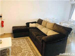 Canapea coltar cu tetiere regalbile - imagine 1