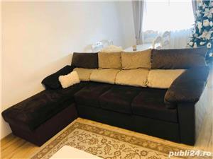Canapea coltar cu tetiere regalbile - imagine 4