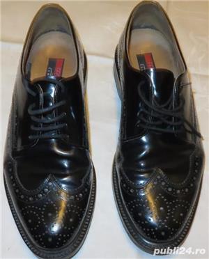 Pantofi piele exterior/interior Lloyd Classic by Hudson marimea 43 - imagine 1