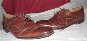 Pantofi piele exterior/interior Lloyd Classic marimea 45 - imagine 1