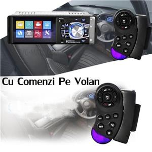 Auto Radio Player MP5 Ecran 4.1 Inch Cu IR Si Comenzi Pe Volan - 9 - imagine 4