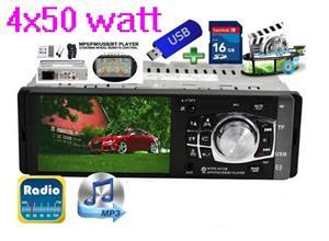 Auto Radio Player MP5 Ecran 4.1 Inch Cu IR Si Comenzi Pe Volan - 9 - imagine 3