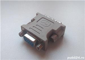 conector adaptor original Asus DVI-A <> D-SUB/VGA  - imagine 2