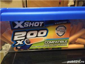 Cartușe Xshot, Nerf - 200 buc la cutie - imagine 2