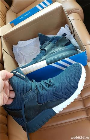 Adidas Originals Tubular X Knit midnight (S81675) 43 - imagine 4