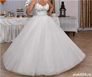 Vand rochie de mireasă  - imagine 3