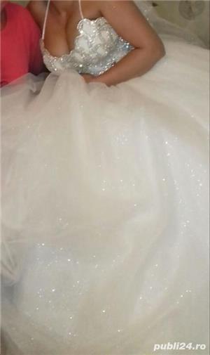 Vand rochie de mireasă  - imagine 4