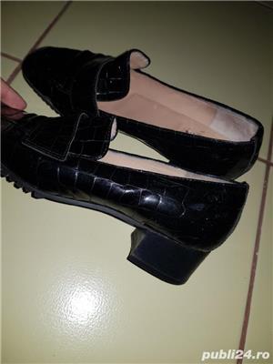 Pantofi de piele - imagine 4