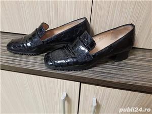 Pantofi de piele - imagine 3