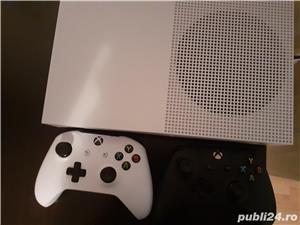 Vand Xbox ONE S 1 TB + 2 controllere +fifa 19+gta 5 - imagine 2