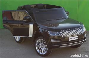 Masinuta electrica pentru 2 copii Range Rover Vogue HSE STANDARD #Negru - imagine 2