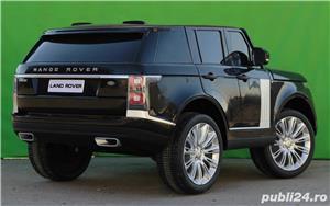 Masinuta electrica pentru 2 copii Range Rover Vogue HSE STANDARD #Negru - imagine 3