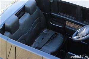 Masinuta electrica pentru 2 copii Range Rover Vogue HSE STANDARD #Negru - imagine 5