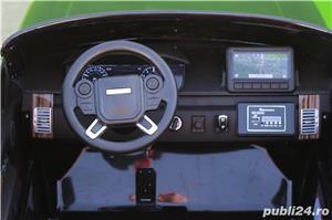 Masinuta electrica pentru 2 copii Range Rover Vogue HSE STANDARD #Negru - imagine 4