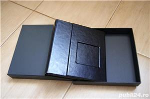 Carcasa Lux 4 DVD piele neagra + poza si cutie - imagine 2