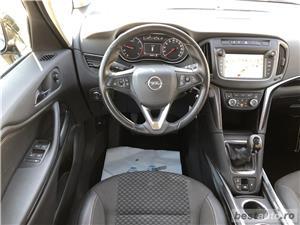 Opel Zafira Tourer | 1.6D | Navi | Scaune+volan incalzite | Senzori parcare+camera | Clima | 2017. - imagine 9