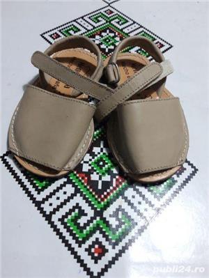 Sandale copii piele naturală marimea 21 - imagine 2