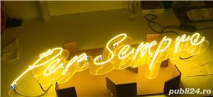 Litere luminoase din sticla - imagine 5