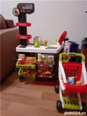 Vand magazin copii cu accesorii si masa de lucru pentru baietii cu accesorii  - imagine 1