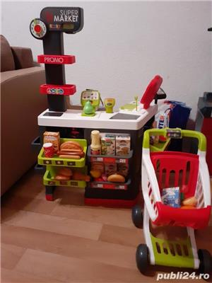 Vand magazin copii cu accesorii si masa de lucru pentru baietii cu accesorii  - imagine 2