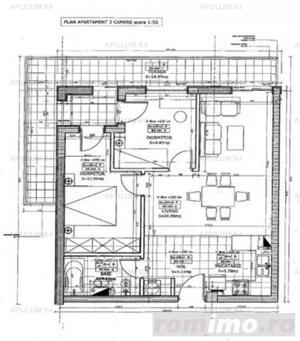 Apartament 3 Camere 2 Balcoane in Baneasa zona Petrom City - imagine 8