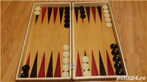 Cutie Joc 50x50x4 cm pentru sah-table-dame cu set piese incluse  - imagine 3