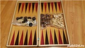 Cutie Joc 50x50x4 cm pentru sah-table-dame cu set piese incluse  - imagine 2