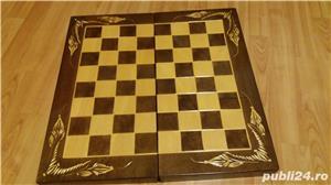 Cutie Joc 50x50x4 cm pentru sah-table-dame cu set piese incluse  - imagine 1