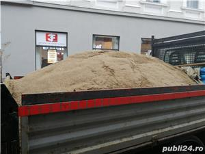 o744570539 Aduc nisip,sort,balast,piatra concasata,pamant,ridic moluz, debarasez curti,poduri etc. - imagine 1