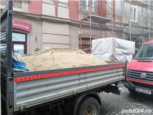 o744570539 Aduc nisip,sort,balast,piatra concasata,pamant,ridic moluz, debarasez curti,poduri etc. - imagine 2