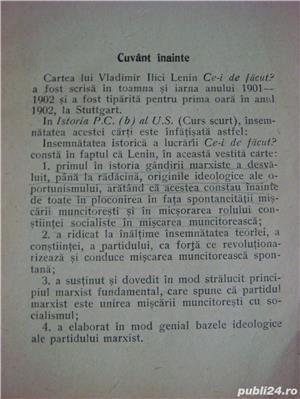 """""""Cei de facut""""-V.I.Lenin-1946 - imagine 4"""