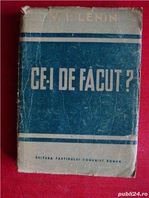 """""""Cei de facut""""-V.I.Lenin-1946 - imagine 1"""