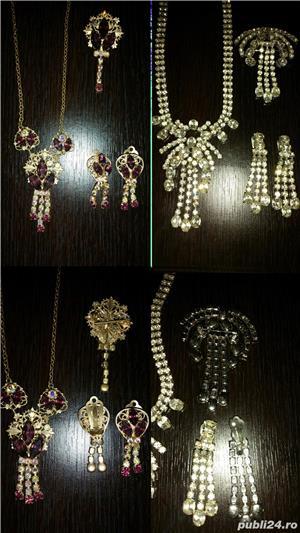 Aur 14 K,bijuterii,seturi - imagine 5