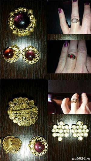 Aur 14 K,bijuterii,seturi - imagine 4