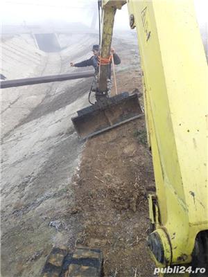 Buldoexcavator,Demolari,Sapatura,Santuri,Fundatie,Sant,Cablu electric  - imagine 2