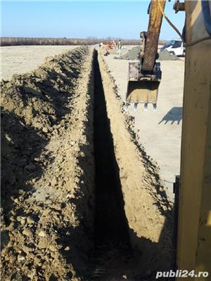 Excavator cu Picon.Foreza,Burghiu.Sapaturi canalizare,apa,fibra optica  - imagine 4