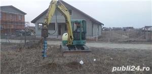 Excavator cu Picon.Foreza,Burghiu.Sapaturi canalizare,apa,fibra optica  - imagine 1