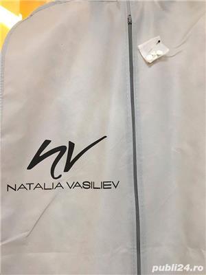 Rochie de mireasa sirena, Natalia Vasiliev, voalul de 2,50 metri cadou! - imagine 5