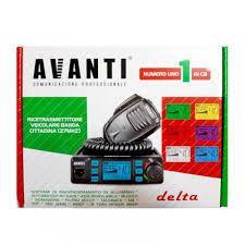 Statie radio CB Avanti Delta 4, 10 , 20 w - imagine 2