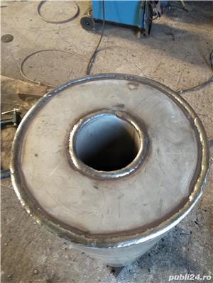 Boilere de inox pe lemne pe comanda - imagine 2
