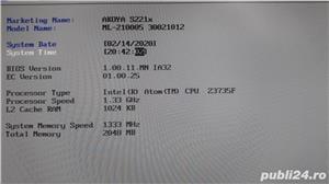 Medion Akoya S2218 - Intel Atom 1.3Ghz. 2GB ddr3 mSSD 32GB Defect - imagine 4