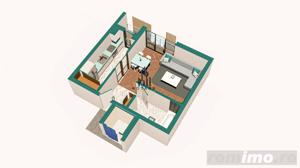 Copou / Apartament 1 camera decomandat / Incalzire pardoseala - imagine 2