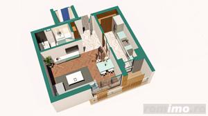 Copou / Apartament 1 camera decomandat / Incalzire pardoseala - imagine 3