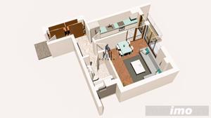 Copou / Apartament 1 camera decomandat / Incalzire pardoseala - imagine 3
