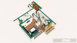 Copou / Apartament 1 camera decomandat / Incalzire pardoseala - imagine 4