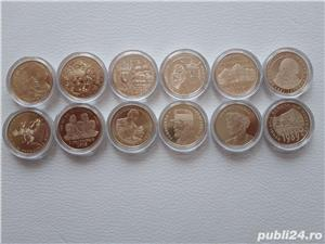 Colectie monede 50 bani aniversari (2010-2019) - imagine 2