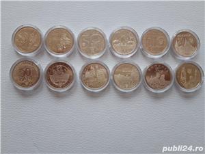 Colectie monede 50 bani aniversari (2010-2019) - imagine 1