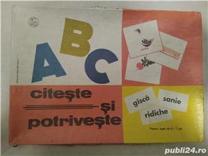 ABC citeste si potriveste joc educativ - imagine 1